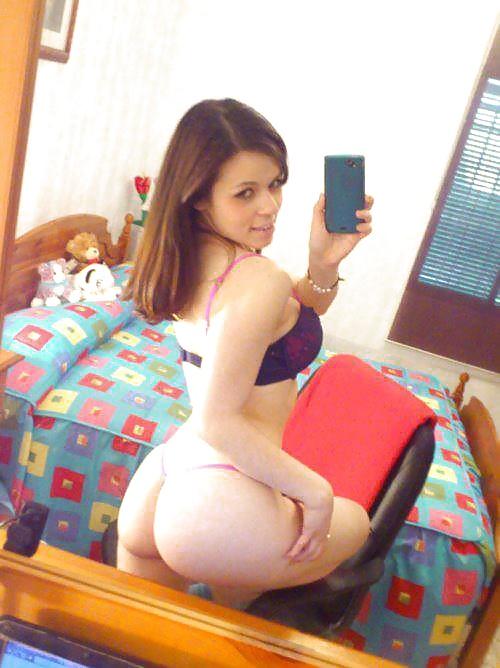 joli cul de meuf hot sur le 41 en photo selfie