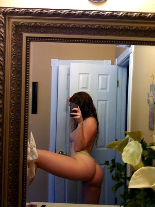 joli cul de meuf hot sur le 90 en photo selfie