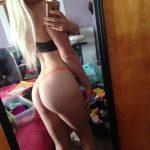 jolie fille sexy du 02 nue en photo exhib son cul